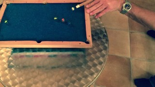 Focus Key Frames. Marbles as billiard-balls